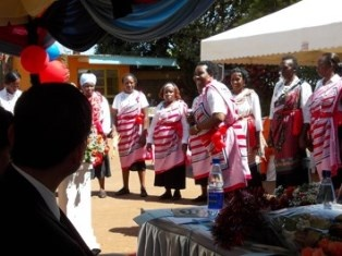 Dance and songs performed by Kangemi Women Group