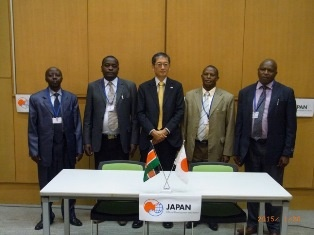 H.E.  Mr Terada, Ambassador of Japan to the
