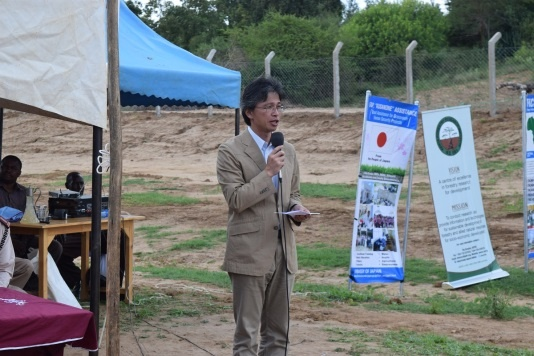 Speech by Mr. Kazuhiro Tambara, Senior Representative of JICA Kenya Office