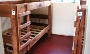 Two of the 64 beds provided by GGP Funds